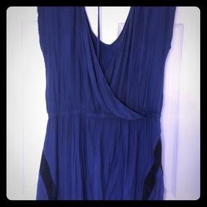 Short silky dress